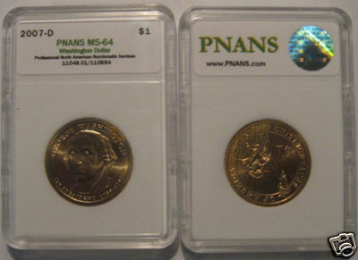 PNANS Professional North American Numismatic Service Third ...